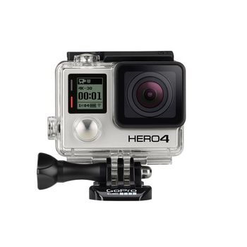 GOPRO HERO4 12MP 1080P VIDEO WIFI BLUETOOTH BLACK STANDARD EDITION, 12 mp