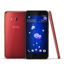 HTC U11 128GB 6GB RAM DUAL SIM,  red