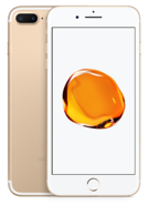 APPLE IPHONE 7 PLUS 4G LTE,  gold, 128gb