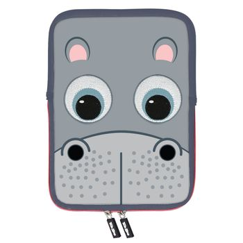 TAB ZOO BACK CASE 10 INCH HIPPO
