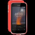 NOKIA 1 8GB DUAL SIM,  red