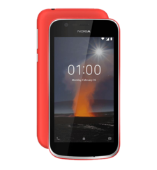 NOKIA 1 8GB DUAL SIM,  red