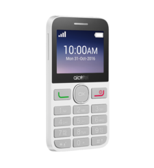 ALCATEL 2008 DUAL SIM,  white, 16gb