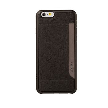 OZAKI O COAT 0.3 POCKET IPHONE 6 CASE,  white