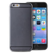 """PURO CRYSTAL COVER IPHONE 6 AND 6S 4.7"""",  black"""