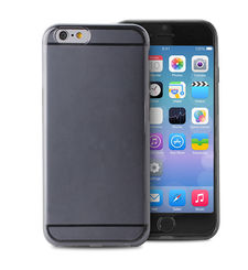 "PURO CRYSTAL COVER IPHONE 6 AND 6S 4.7"",  black"