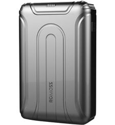 ROMOSS USTYLE 10000MAH POWER BANK,  grey