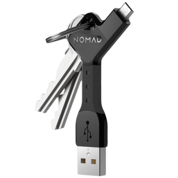 NOMAD MICRO USB CABLE KEY,  black