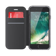 GRIFFIN IPHONE 7 WALLET REVEAL BLACK/CLEAR