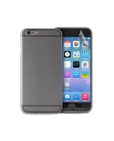 "PURO IPHONE 6 4.7"" ULTRA-SLIM"" 0.3"" COVER with Screen Protector included,  black"