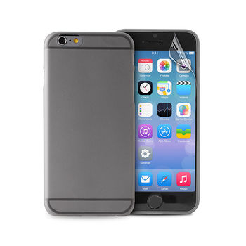 PURO IPHONE 6 4.7  ULTRA-SLIM  0.3  COVER WITH SCREEN PROTECTOR INCLUDED,  transparent