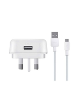 HUAWEI UK PLUG WITH CABLE 9V 2A WHITE