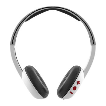 SKULLCANDY BLUETOOTH HEADPHONE,  white