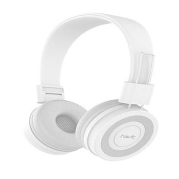 HAVIT WIRED HEADPHONE HV 2218D WHITE GREY - NOT FOR SALE