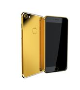 APPLE IPHONE 7 GOLD PLATED, 128gb