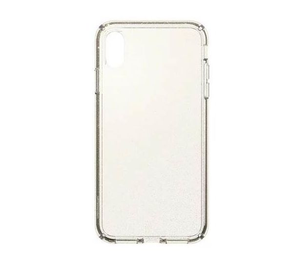 watch 075a5 95ea0 SPECK IPHONE XS MAX BACK CASE PRESIDIO CLEAR WITH GOLD