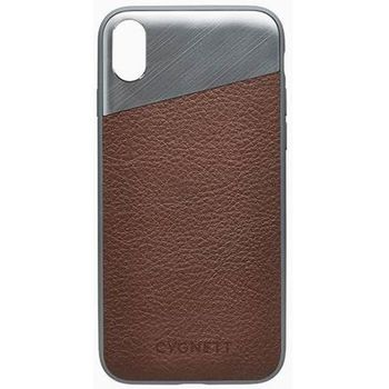 CYGNETT IPHONE X LEATHER CASE,  navy