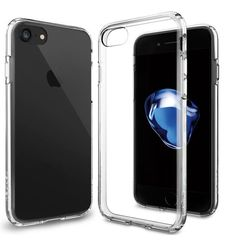 SPIGEN IPHONE 7 PLUS / 8 PLUS BACK CASE ULTRA HYBRID CRYSTAL CLEAR