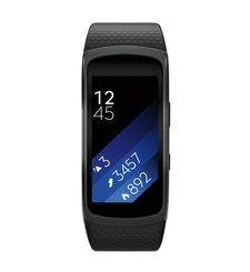 SAMSUNG GEAR FIT 2 LARGE,  أسود