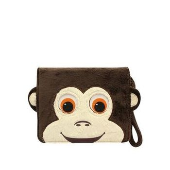 TAB ZOO BOOK TYPE CASE 10 INCH MONKEY