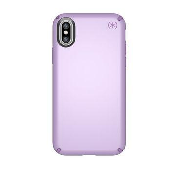SPECK IPHONE X BACK CASE PRESIDO METALLIC,  purple