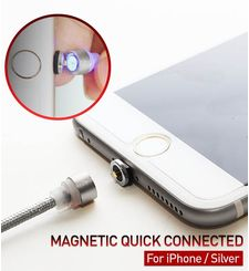 RED DOT IPHONE MAGNETIC CHARGING CABLE