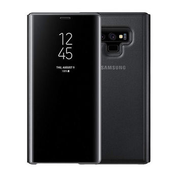 SAMSUNG GALAXY NOTE 9 CLEAR VIEW STANDING CASE,  black