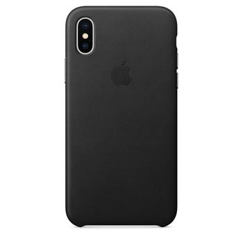 APPLE IPHONE X LEATHER BACK CASE,  saddle brown