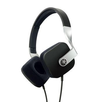 YAMAHA ON EAR STEREO HEADSET 46OHMS,  black