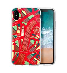 LAUT IPHONE X BACK CASE NOMAD,  red