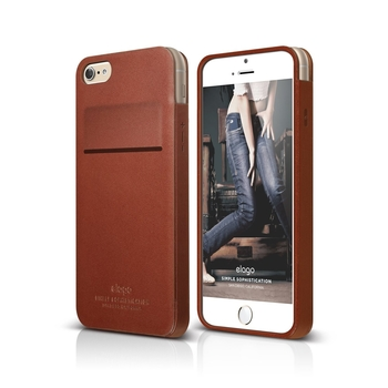 ELAGO S6 LEATHER POCKET CASE IPHONE 6