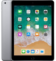 APPLE IPAD 6TH GEN 2018 9.7 INCH,  space grey, wifi