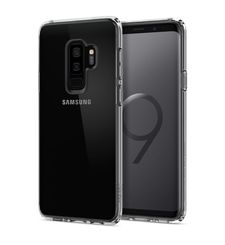 SPIGEN GALAXY S9 PLUS BACK CASE ULTRA HYBRID,  clear