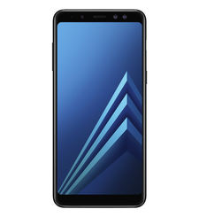 SAMSUNG GALAXY A8 PLUS 2018 64GB DUAL SIM 4G LTE,  black