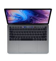 APPLE MACBOOK PRO 2018 MR932 SPACE GREY I7 8TH GEN. 2.2 6CORE 16GB 256GB RADEON PRO 555X WITH 4GB TB & ID RETINA DISPLAY WITH TT 15 INCHES ENGLISH
