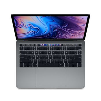 APPLE MACBOOK PRO 2018 MR9R2 SPACE GREY I5 8TH GEN. 2.3 QUAD CORE 8GB 512GB INTEL IRIS PLUS GRAPHICS 655 TB & ID RETINA DISPLAY WITH TT 13 INCHES ENGLISH