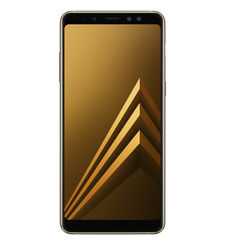 SAMSUNG GALAXY A8 PLUS 2018 64GB DUAL SIM 4G LTE,  gold