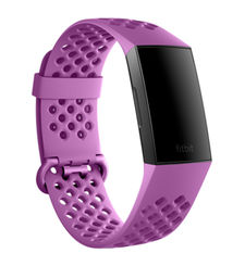FITBIT CHARGE 3 SPORT BAND LARGE BERRY