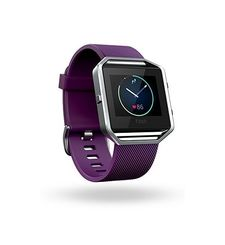 FITBIT BLAZE LARGE,  plum silver