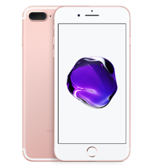APPLE IPHONE 7 PLUS 4G LTE,  rose gold, 128gb