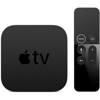 APPLE TV 4K BLACK MULTIMEDIA PLAYER, 64gb