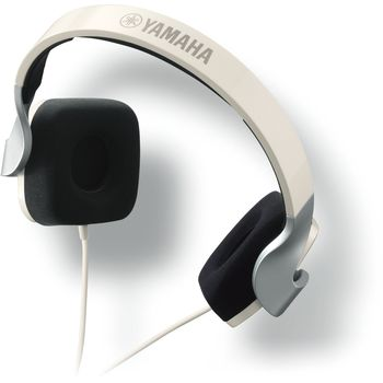 YAMAHA ON EAR STEREO HEADSET 46 OHMS,  white