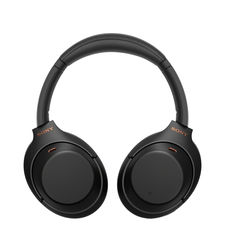 SONY WIRELESS NOISE CANCELLING HEADPHONE WH-1000XM4,  black