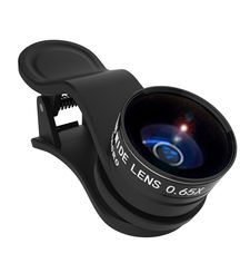 KENKO LENS WIDE AND MACRO 0.65X REAL PRO CLIP,  black