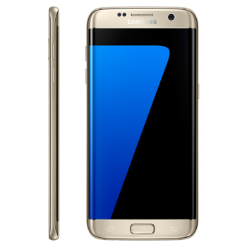 SAMSUNG GALAXY S7 EDGE G935F DUAL SIM 4G LTE,  gold