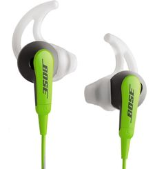 BOSE SOUNDSPORT INEAR HEADPHONES FOR APPLE DEVICES,  green