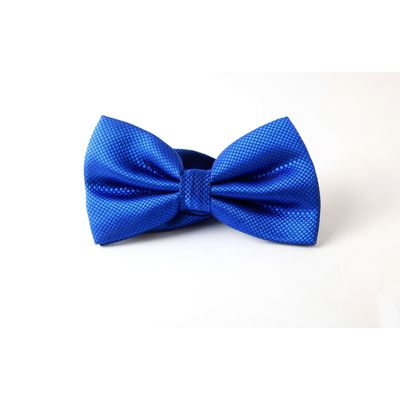 BLUE BOW!, fabric, blue