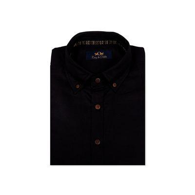 Black Bernard, black, m, cotton linen