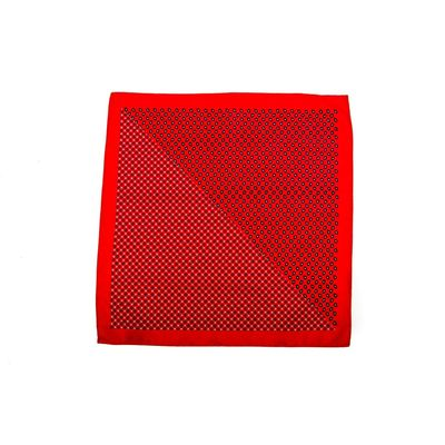 LE LUX CRIMSON, red, silk blend