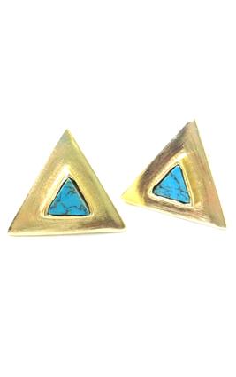 Eesha Zaveri Triangle Studs